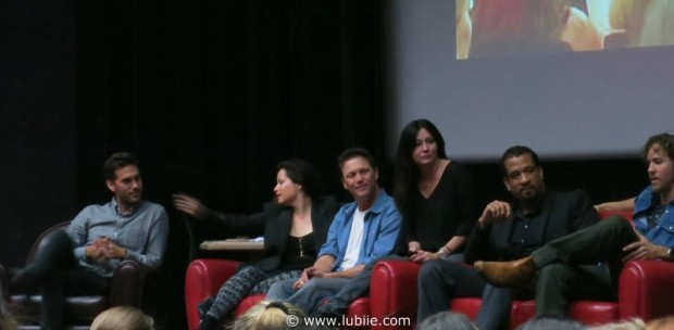 Shannen Doherty, Holly M. Combs, Brian Krause, Drew Fuller, Dorian Gregory et Wes Ramsey