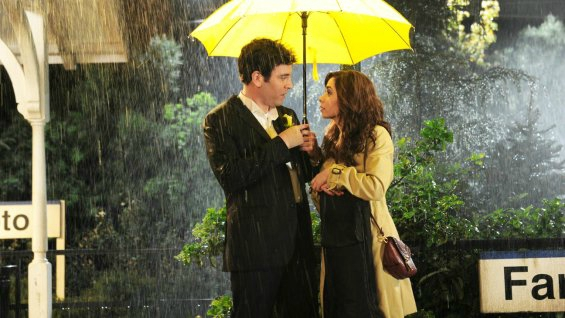 how i met your mother yellow umbrella