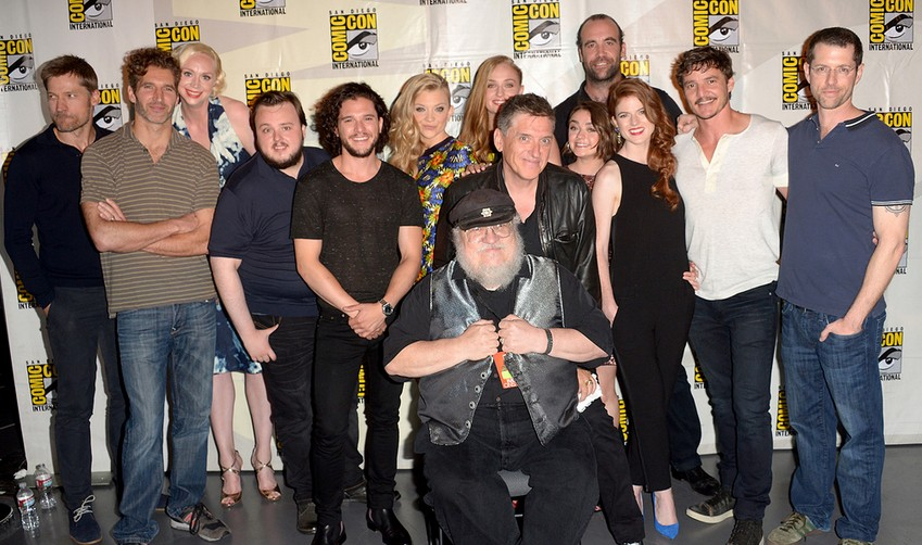 game of thrones comic con 2014