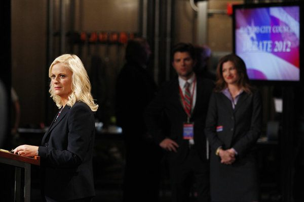leslie knope saison 4 episode 19 the debate