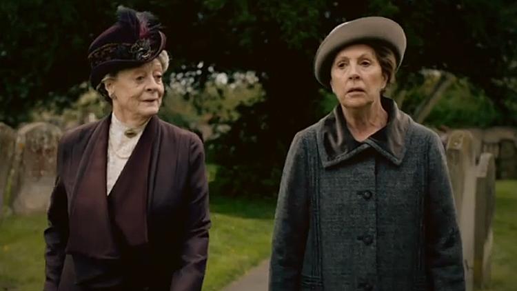 lady violet isobel crawley saison 5 downton abbey