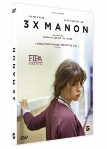Visuel 3D DVD 3x Manon de Jean-Xavier De Lestrade