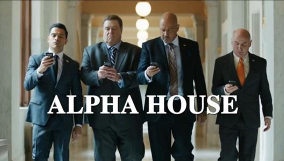Alpha House title.
