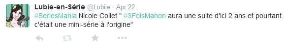 saison 2 3X Manon