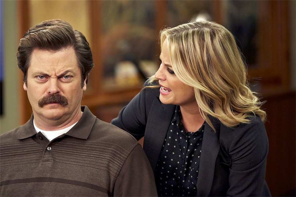 PARKS AND RECREATION Saison 7 épisode 4 Leslie & Ron
