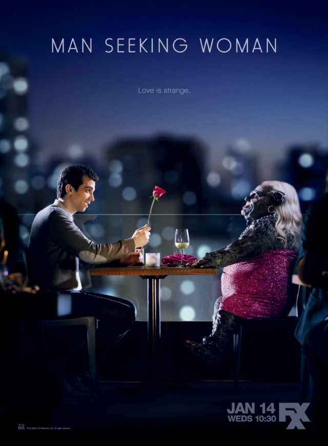 man seeking woman série