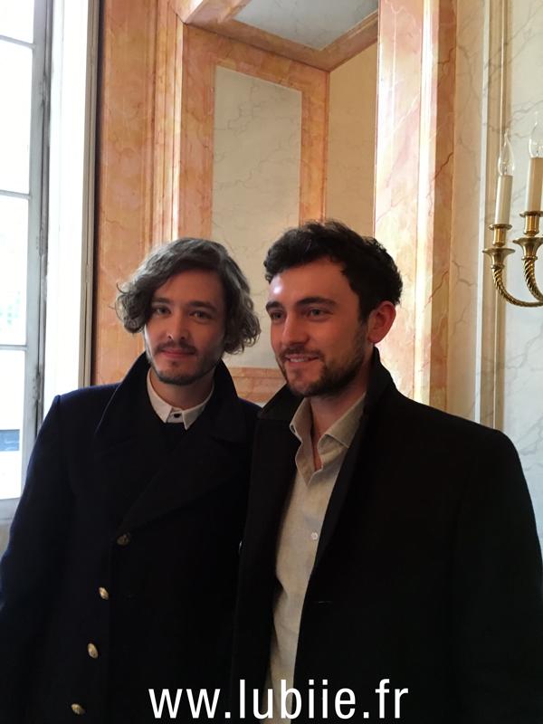 Alexander Vlahos et George Blagden