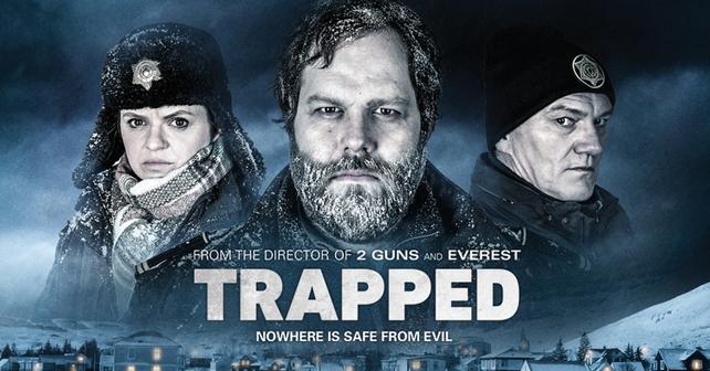 trapped série