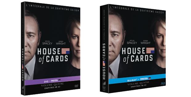 dvd house of cards saison 4