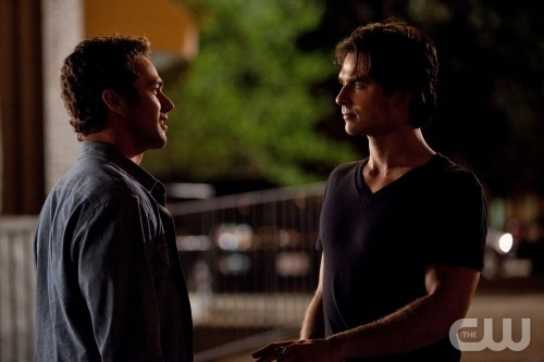 """Memory Lane"" - Taylor Kinney as Mason, Ian Somerhalder as Damon in THE VAMPIRE  DIARIES on The CW. Photo: Bob Mahoney/The CW ©2010 The CW Network, LLC. All Rights Reserved."