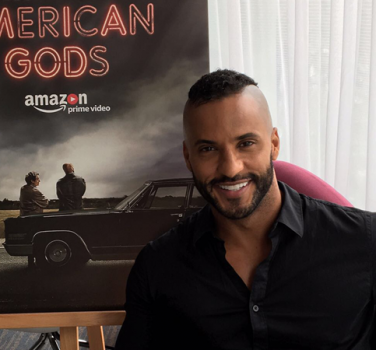 ricky whittle american gods interview