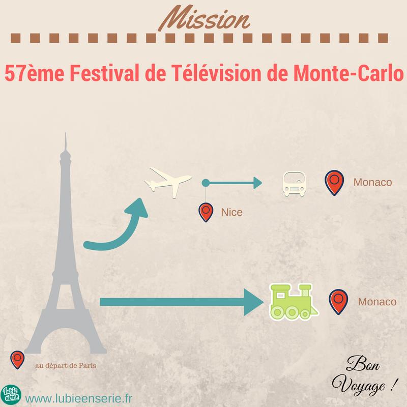 se rendre au festival de télévision de monte-carlo de Paris