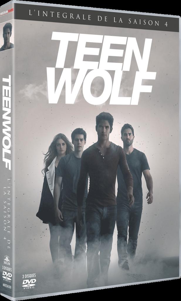 teen wolf saison 4 DVD