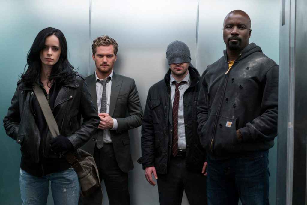 The defenders série netflix