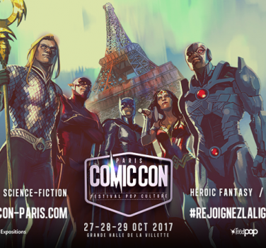 comic con paris 2017 séries