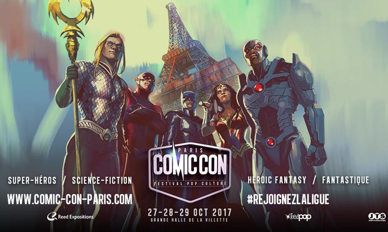 comic con paris 2017 séries