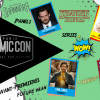 comic con séries programme 2017