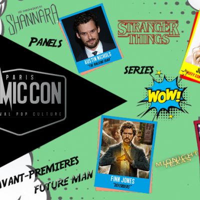 comic con séries programme 2017