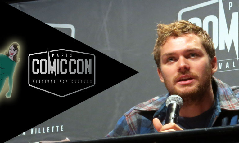 finn jones comic con paris iron fist