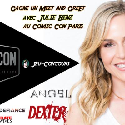 meet and greet Julie Benz comic con paris