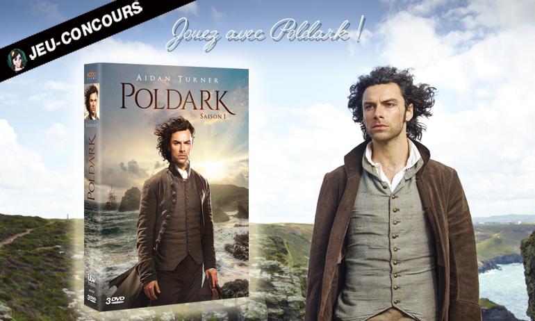[CONCOURS] Gagnez un coffret DVD ou un livre de Poldark !