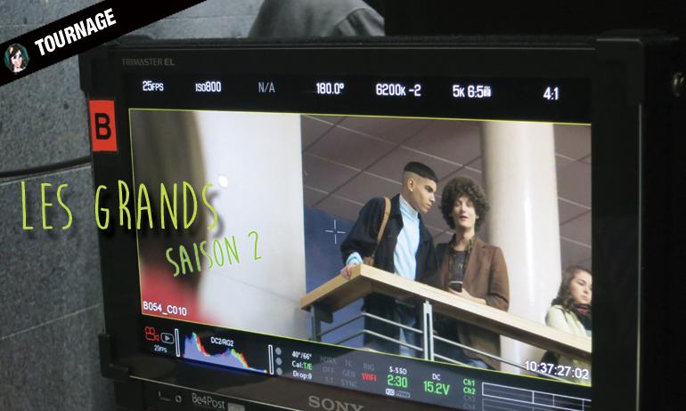tournage les grands saison 2