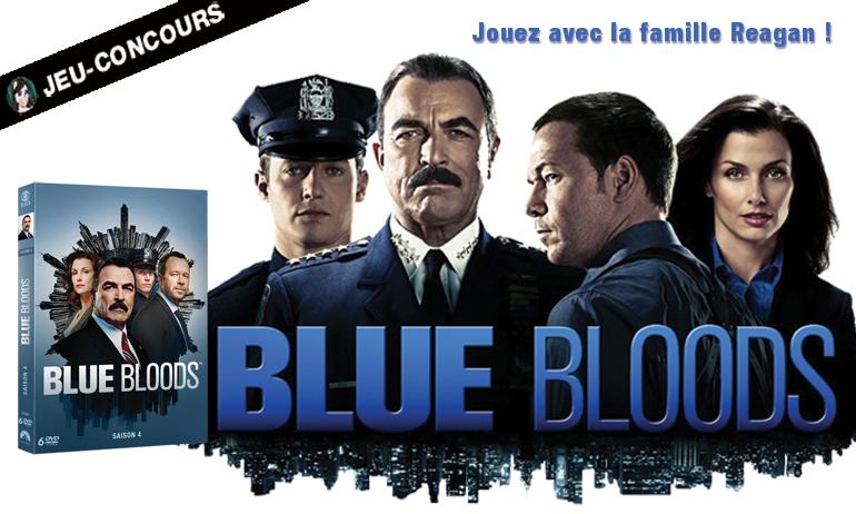blue bloods jeu concours DVD