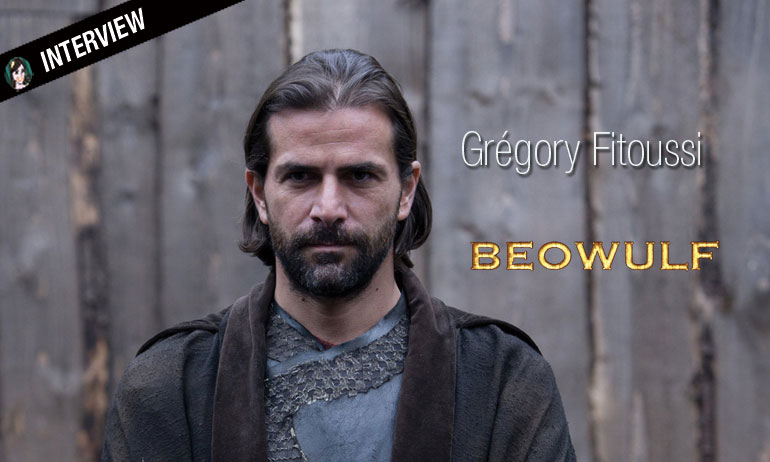 Interview du méchant Grégory Fitoussi dans Beowulf