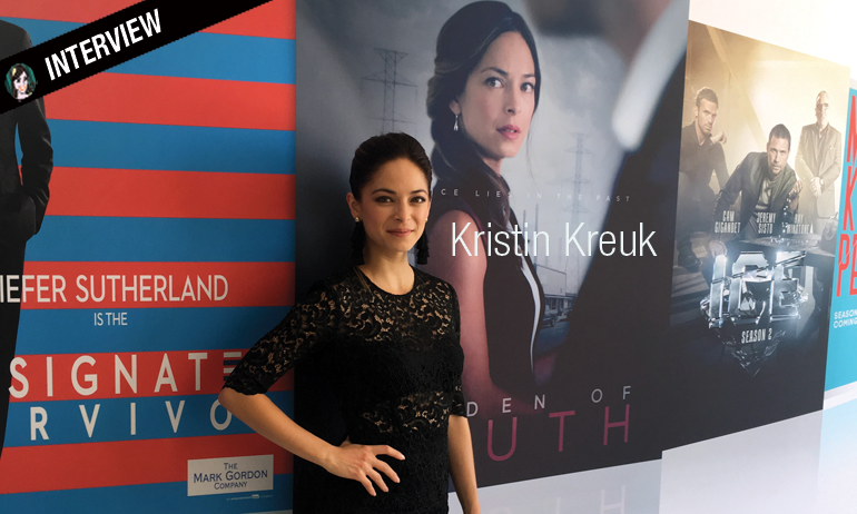 kristin kreuk interview burden of truth smallville