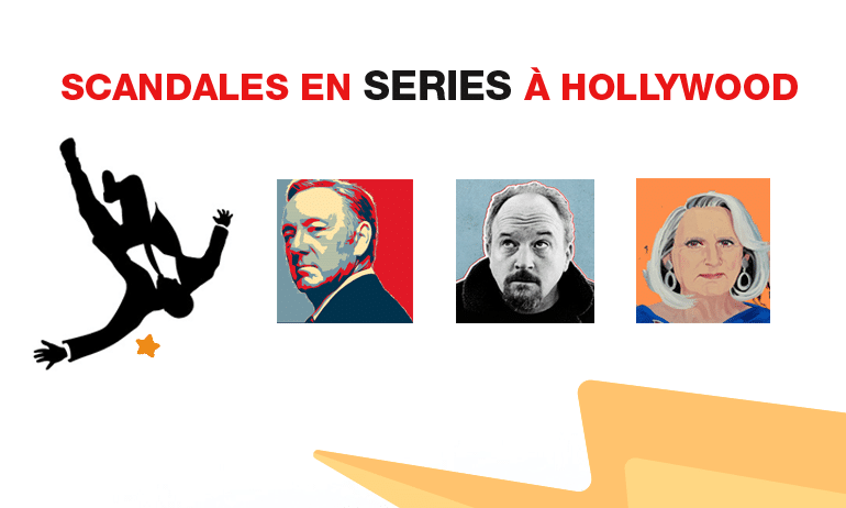 scandales en séries à hollywood