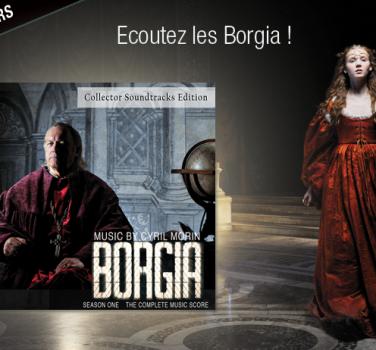 jeu concours borgia BO