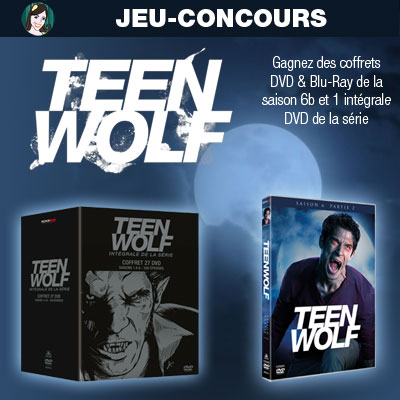 jeu concours teen wolf intégrale