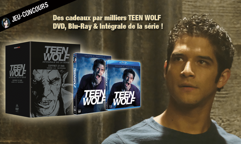 concours teen wolf integrale