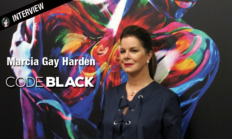 marcia gay harden code black leanne rorish interview