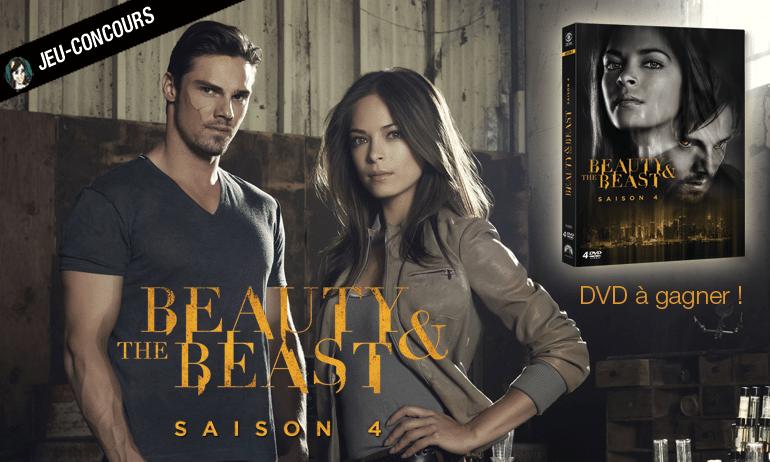 beauty and the beast jeu concours DVD saison 4