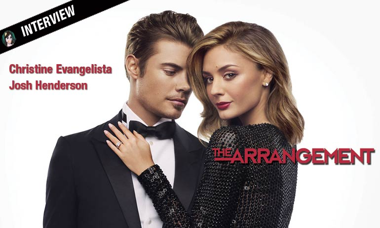 the arrangement interview josh henderson christine evangelista