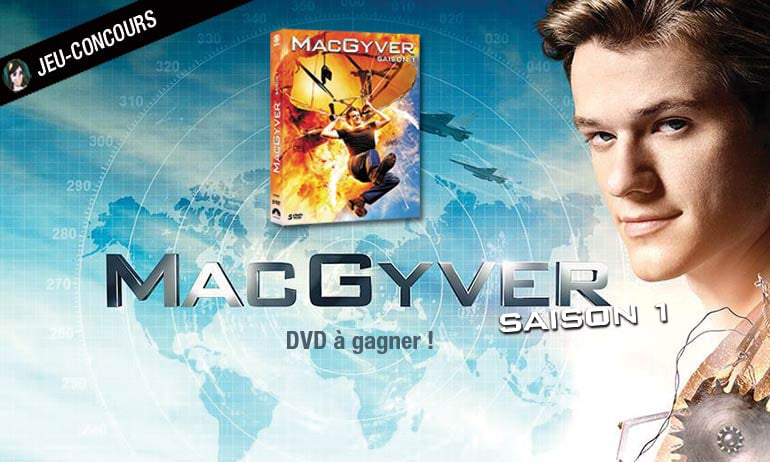 concours macgyver dvd