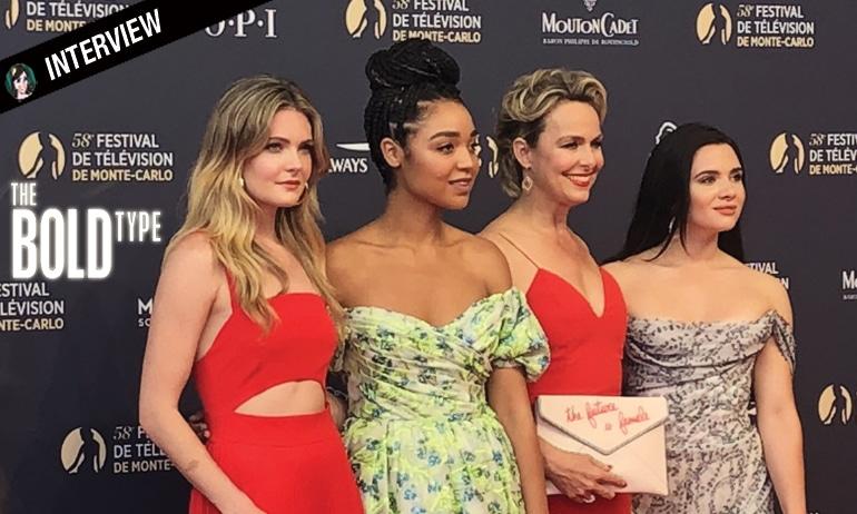 Interview des filles de The Bold Type !
