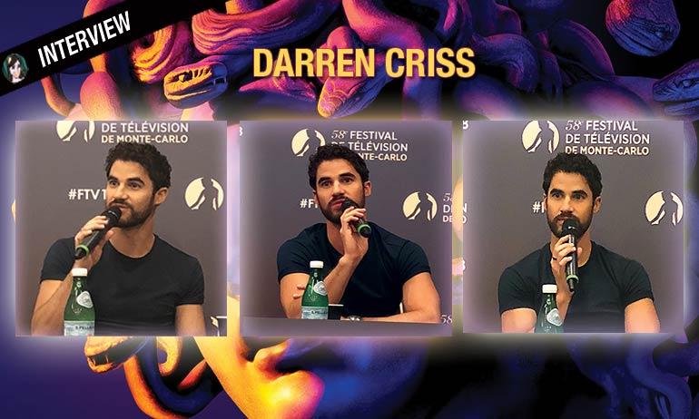 Darren criss interview versace glee