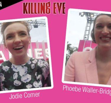 killing eve interview video jodie comer phoebe waller-bridge series tv Canal + villanelle