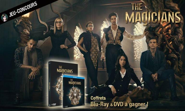 the magicians coffret dvd blu-ray cadeaux bon plan concours jeu