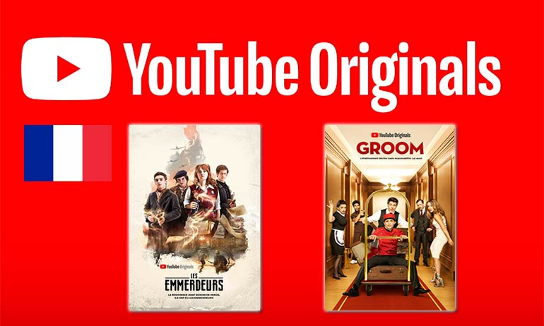 youtube originals france les emmerdeurs groom avis série