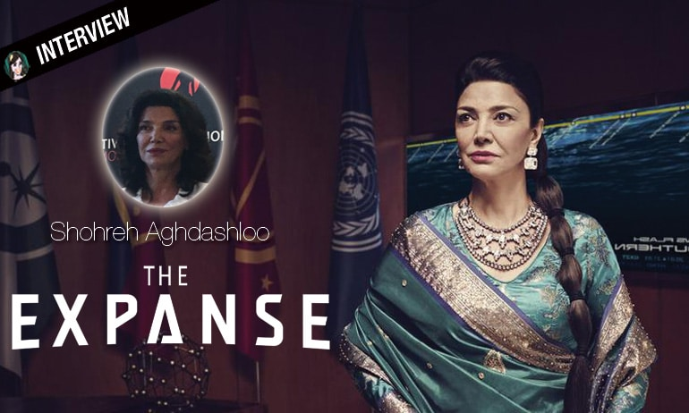 Shohreh Aghdashloo the expanse interview monte-carlo festival