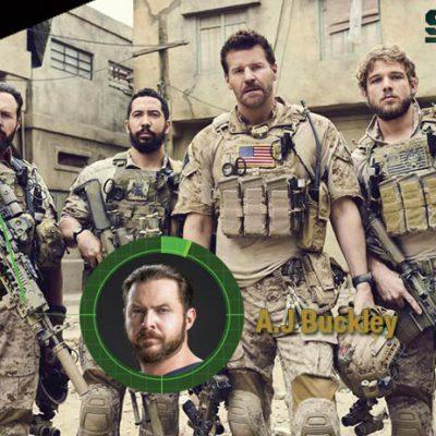 A.J Buckley Seal Team série m6
