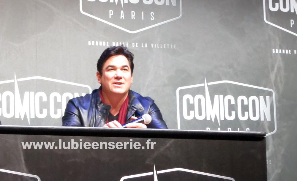 dean cain superman lois et clark les nouvelles aventures comic con paris