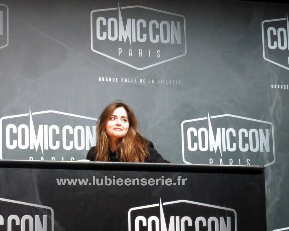 jenna coleman comic con paris doctor who
