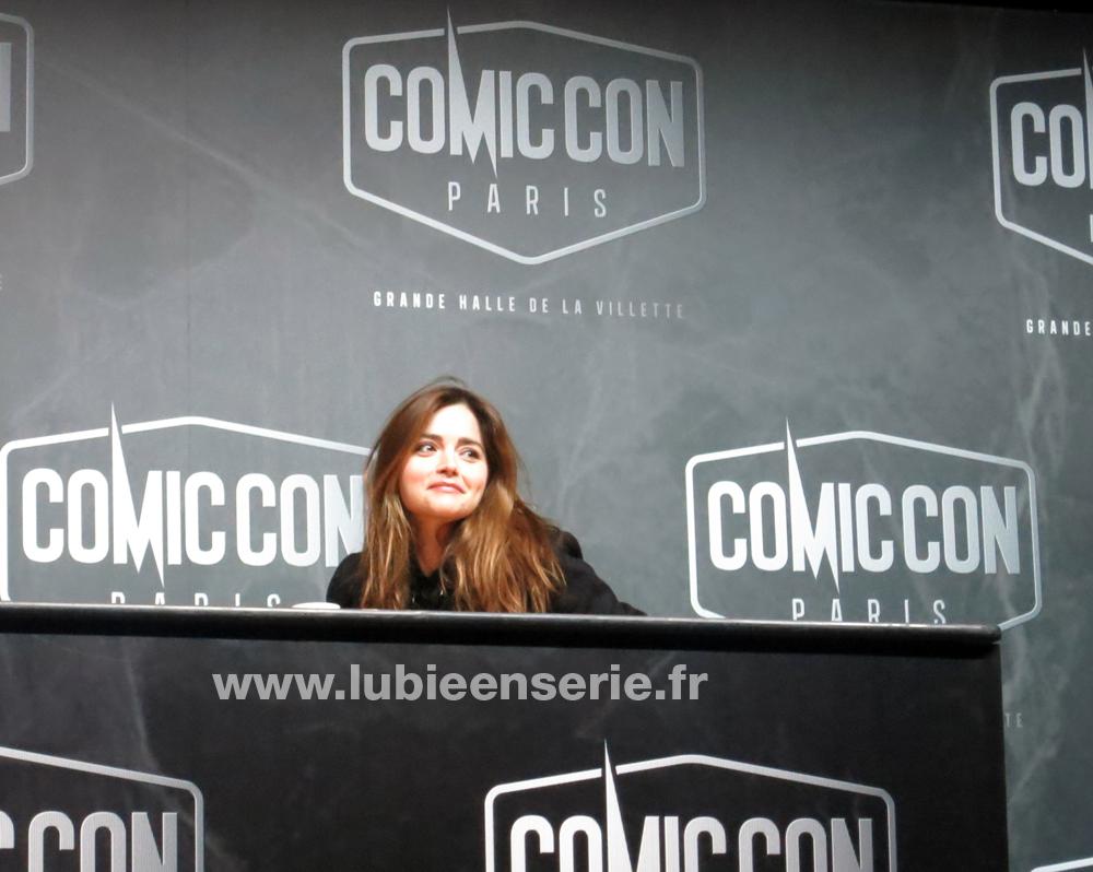 jenna coleman comic con paris doctor who