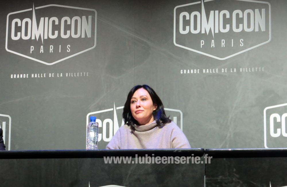 shannen doherty charmed comic con paris