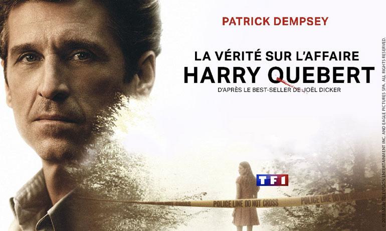 La Vérité sur l'Affaire Harry Québert série avis tf1 patrick dempsey