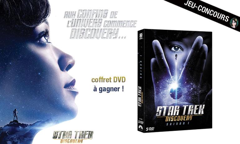 star trek discovery jeu concours dvd